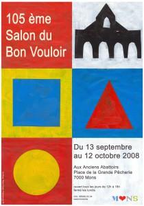 Affiche de Salon du Bon Vouloir 2008